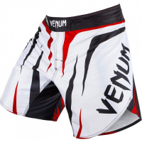 Шорты MMA Venum Sharp White/Black/Red